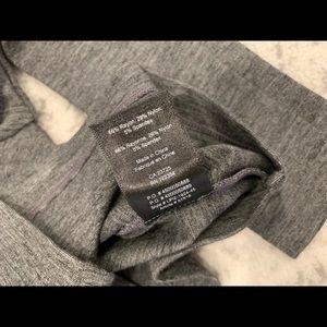 Aritzia Tops - Talula aritzia crop top long sleeve gray xxs